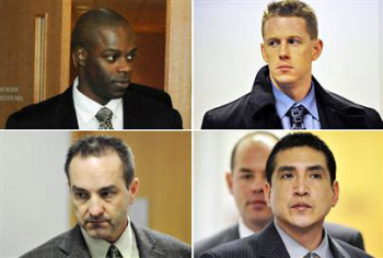 RCMP Robert Dziekanski death squad Kwesi Millington, Bill Bentley, Gerry Rundel, Benjamin Robinson