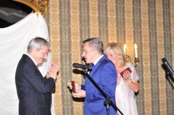 Odznaczeni przez Konsula Jolanta Morgenstern i Jerzy Boski