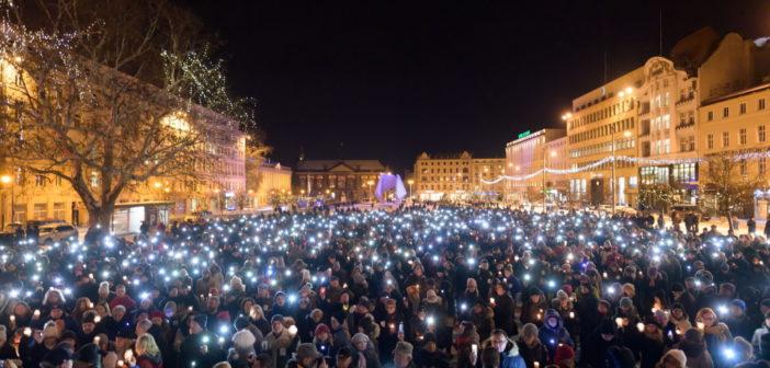 Polska pogrążona w żałobie – w obiektywie