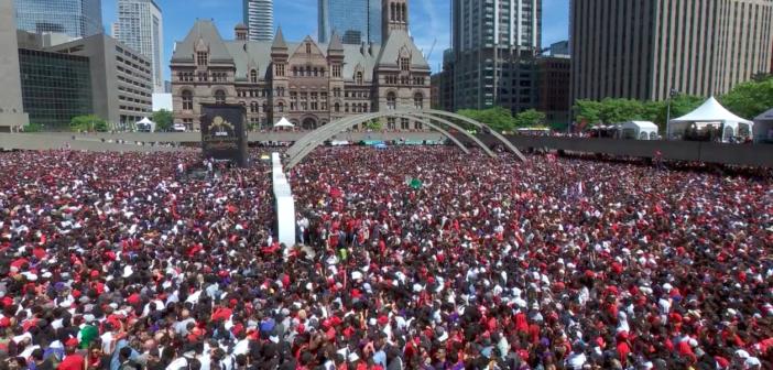 "Toronto oszalało – Kanada to teraz ""Basketball Nation"""