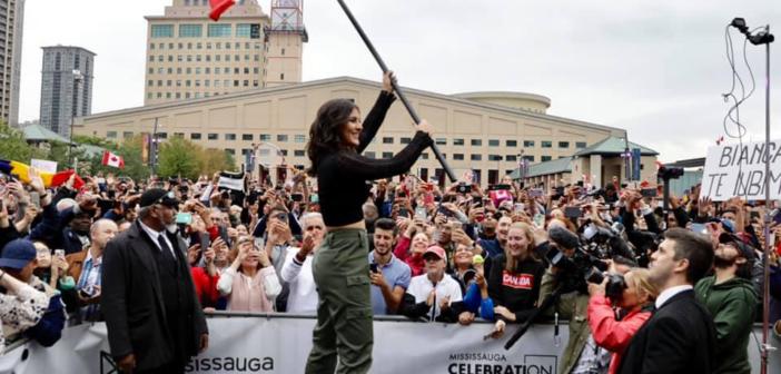 Mississauga wita swoją tenisistkę i celebruje jej zwycięstwo