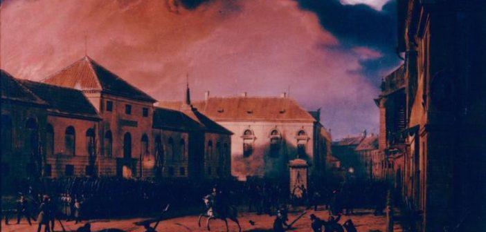 W nocy z 29 na 30 listopada 1830 r. wybuchło Powstanie Listopadowe