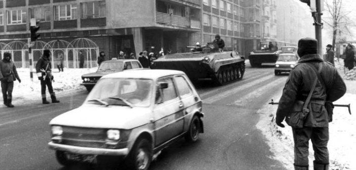 38 rocznica wprowadzenia w Polsce stanu wojennego