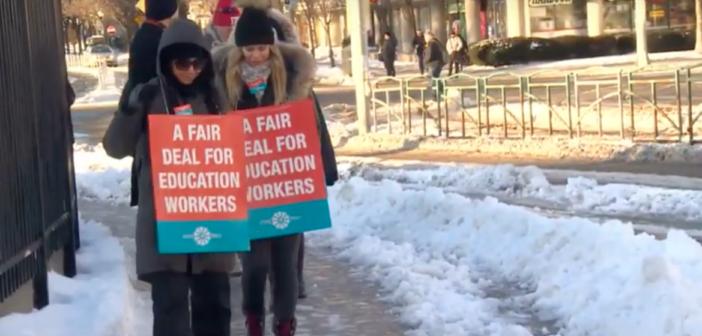 Strajki trwają