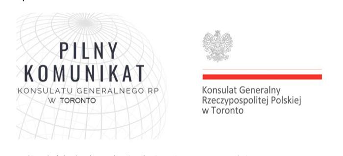 UWAGA: Komunikat MSZ o lotach powrotnych do Polski z Toronto (tylko dwie daty)