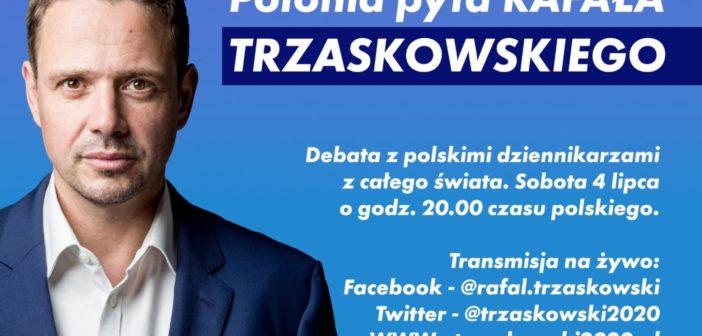 Rozmowa Rafała Trzaskowskiego z Polonią